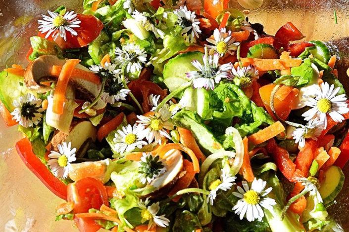 Frutatua Flores y germinados