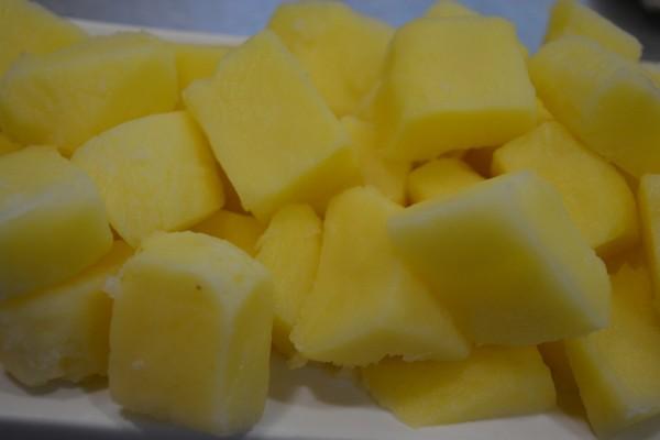 Frutatua Patata pelada envasada